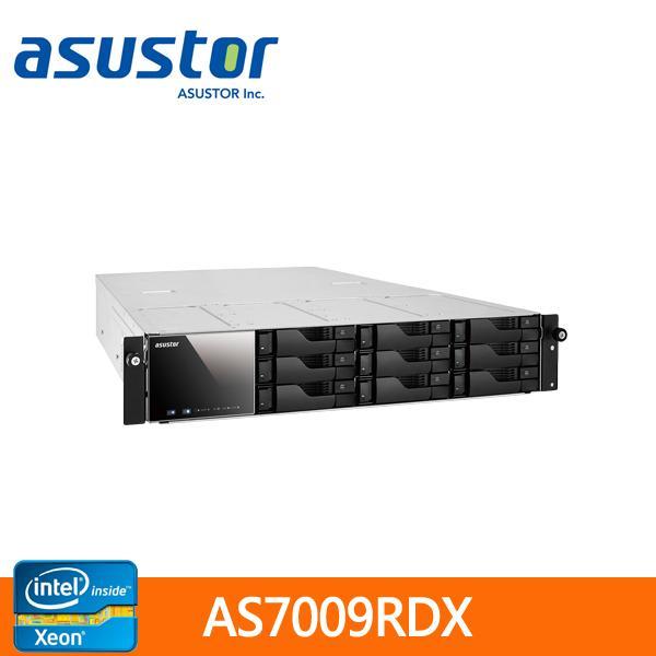 【綠蔭-免運】ASUSTOR華芸AS-7009RDX9Bay機架式(不含滑軌)網路儲存伺服器