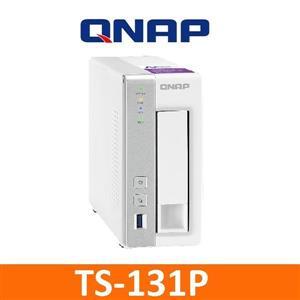 【綠蔭-免運】QNAPTS-131P網路儲存伺服器