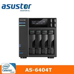 【綠蔭-免運】ASUSTOR華芸AS-6404T4Bay網路儲存伺服器