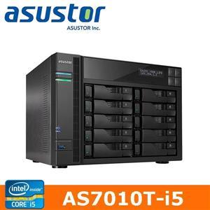【綠蔭-免運】ASUSTOR華芸AS-7010T-i510Bay網路儲存伺服器