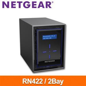 【綠蔭-免運】NETGEARRN4222Bay網路儲存伺服器