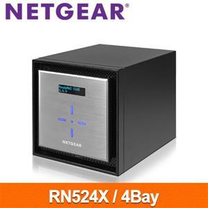 【綠蔭-免運】NetgearRN524X4Bay網路儲存伺服器