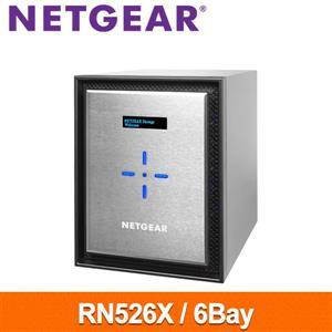 【綠蔭-免運】NetgearRN526X6Bay網路儲存伺服器