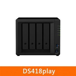【綠蔭-免運】SynologyDS418play網路儲存伺服器