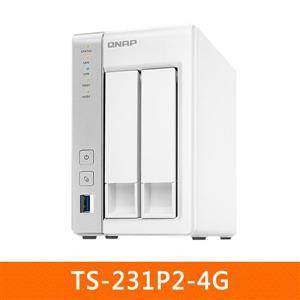 【綠蔭-免運】QNAPTS-231P2-4G網路儲存伺服器