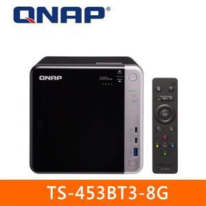 【綠蔭-免運】QNAPTS-453BT3-8G網路儲存伺服器