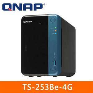 【綠蔭-免運】QNAPTS-253Be-4G網路儲存伺服器