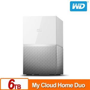 【綠蔭-免運】WDMyCloudHomeDuo6TB(3TBx2)雲端儲存系統