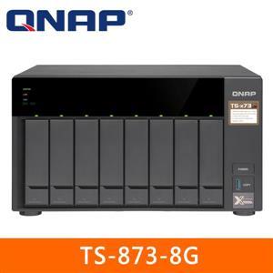 【綠蔭-免運】QNAPTS-873-8G網路儲存伺服器