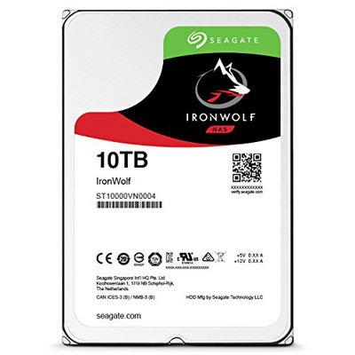 【綠蔭-全店免運】Seagate IronWolf 3.5吋 10TB NAS專用硬碟 (NAS HDD)
