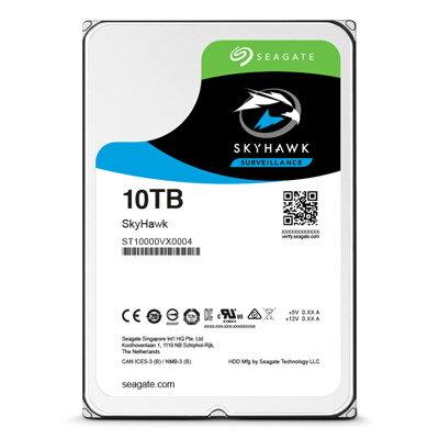 【綠蔭-全店免運】Seagate SkyHawk 3.5吋 10TB 監控碟 (內建旋轉震動感應器)