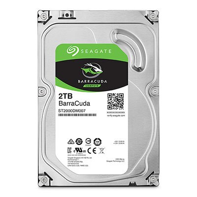 【綠蔭-全店免運】Seagate Barracuda 3.5吋 2TB 桌上型硬碟