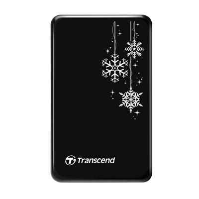 【綠蔭-全店免運】創見 StoreJet 25A3K 1TB行動硬碟(USB3.0) 雪花碟