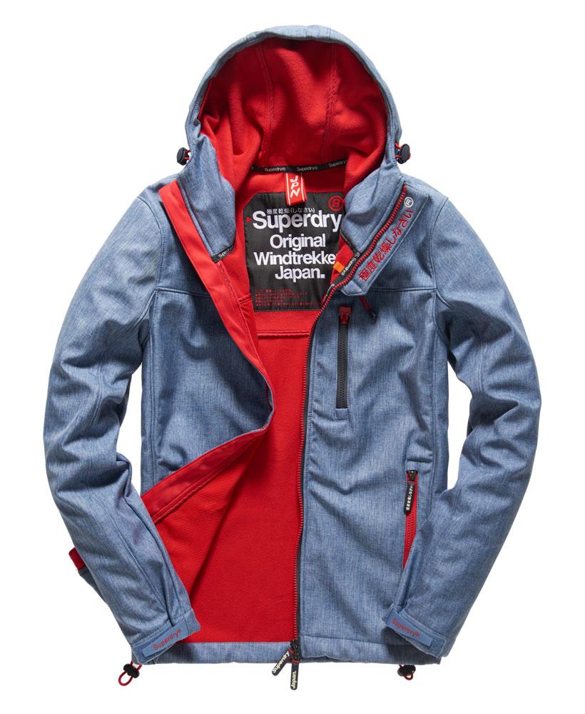[男款] 英國名品 代購 極度乾燥 Superdry Windtrekker 男士風衣戶外休閒外套 防水 藍灰/叛逆紅 0