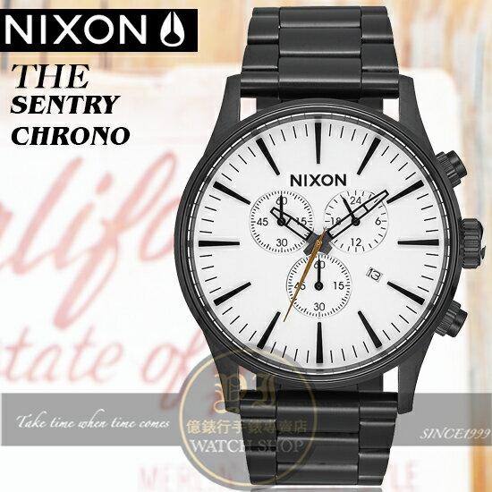 NIXON實體店THESENTRYCHRONO潮流時尚腕錶A386-756公司貨