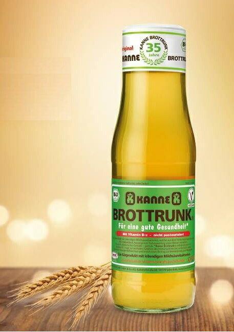 KANNE 德國卡納有機麵包發酵汁(有機穀物發酵汁) 750ml/瓶