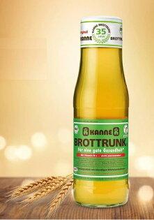 KANNE德國卡納有機麵包發酵汁(有機穀物發酵汁)750ml瓶