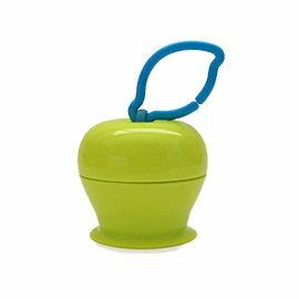 【淘氣寶寶】美國 Grapple 矽膠創意小物 三爪玩具俏吸盤-青蘋果【媽媽包必備,終結你丟我撿】