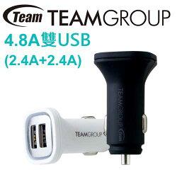 Team 十銓 WD01 4.8A USB雙孔 車用充電器
