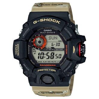 CASIO G-SHOCK GW-9400DCJ-1軍事迷彩電波腕錶/53.5mm