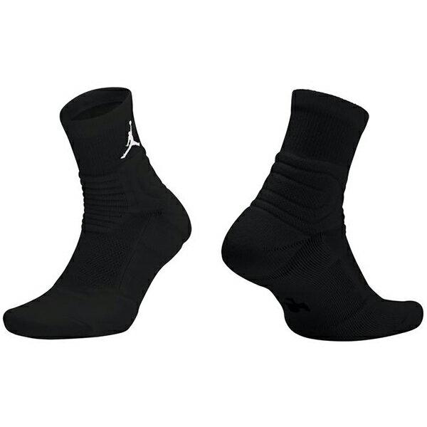 Shoestw【SX5855-011】NIKE JORDAN Ultimate Flight Quarter 籃球襪 運動襪 襪子 短襪 黑色 一雙 兩種尺寸 0