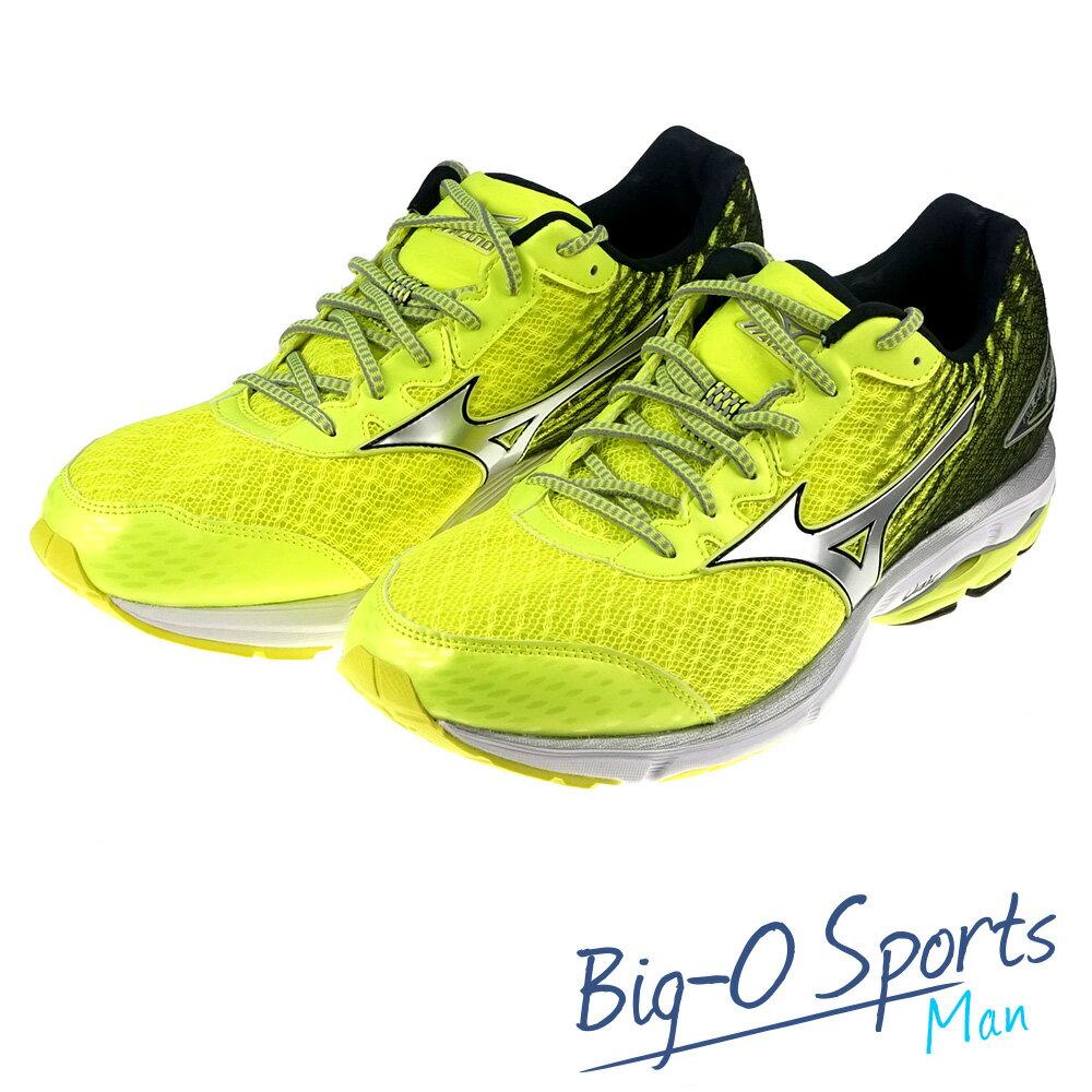 MIZUNO 美津濃 WAVE RIDER 19 慢跑鞋 男 J1GC160405 Big-O SPORTS