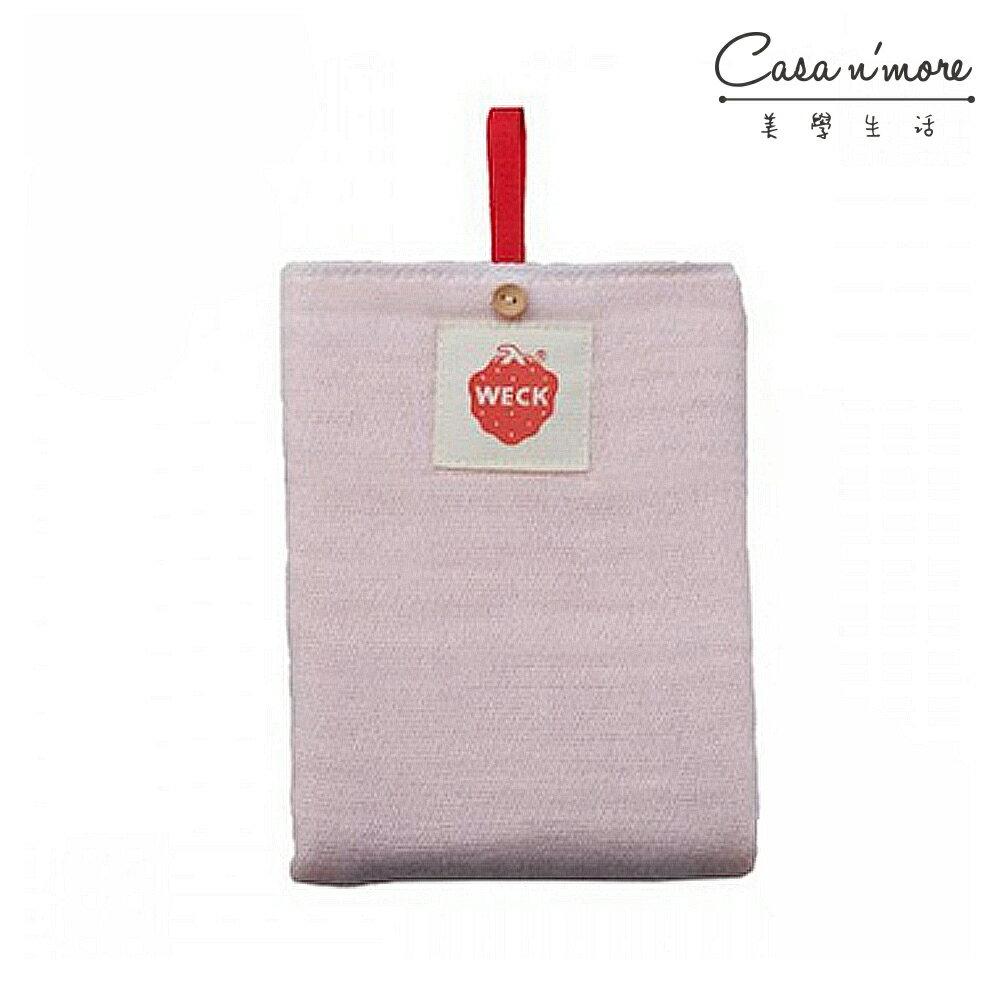 日本 WITH WECK 純棉六重紗擦拭巾 擦拭布 餐桌布 粉色