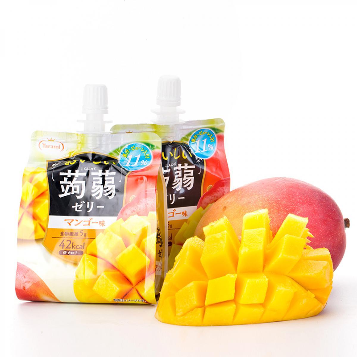 日本Tarami低卡蒟蒻果凍飲 吸吸便利包20包以上享團購 5