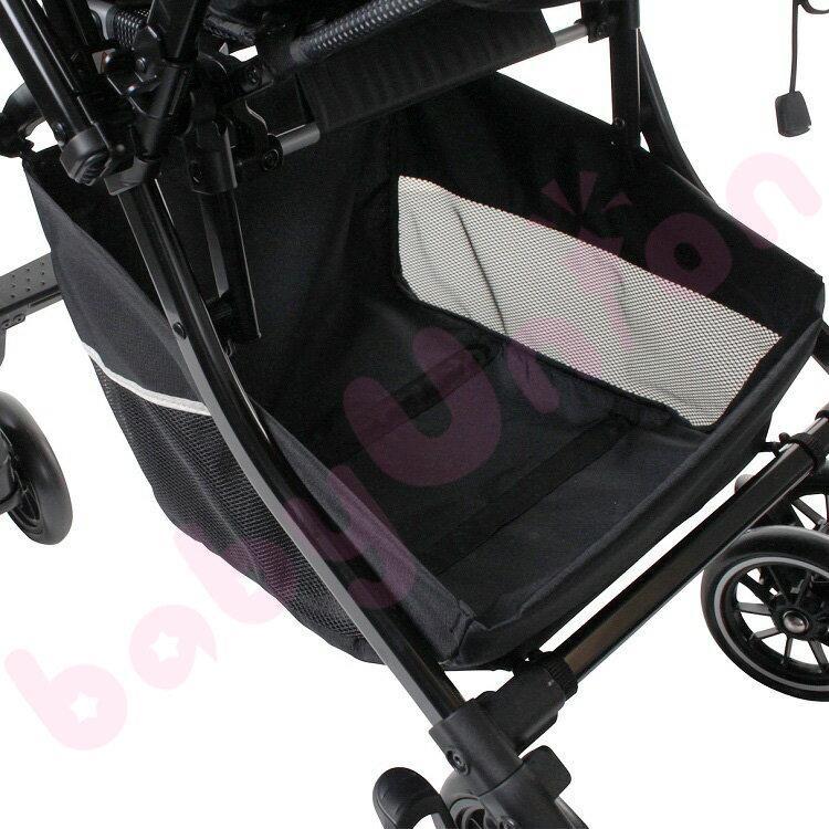 【點數下單送咖啡】Combi康貝 - Handy Auto 4 Cas PLUS 輕量四輪自動鎖放手推車 琥珀褐 2