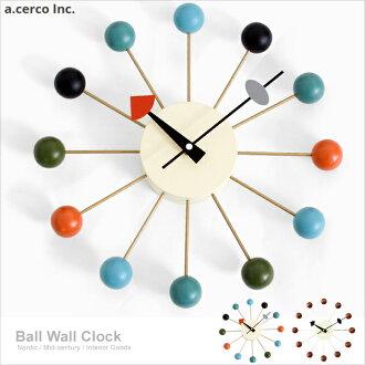E&J【B19002】a.cerco 彩球鐘 Ball Clock 經典設計/北歐風/loft風
