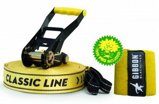 【鄉野情戶外用品店】 Gibbon  德國   SLACKLINE CLASSIC X13 15M SET 走繩組+樹木保護套/13842