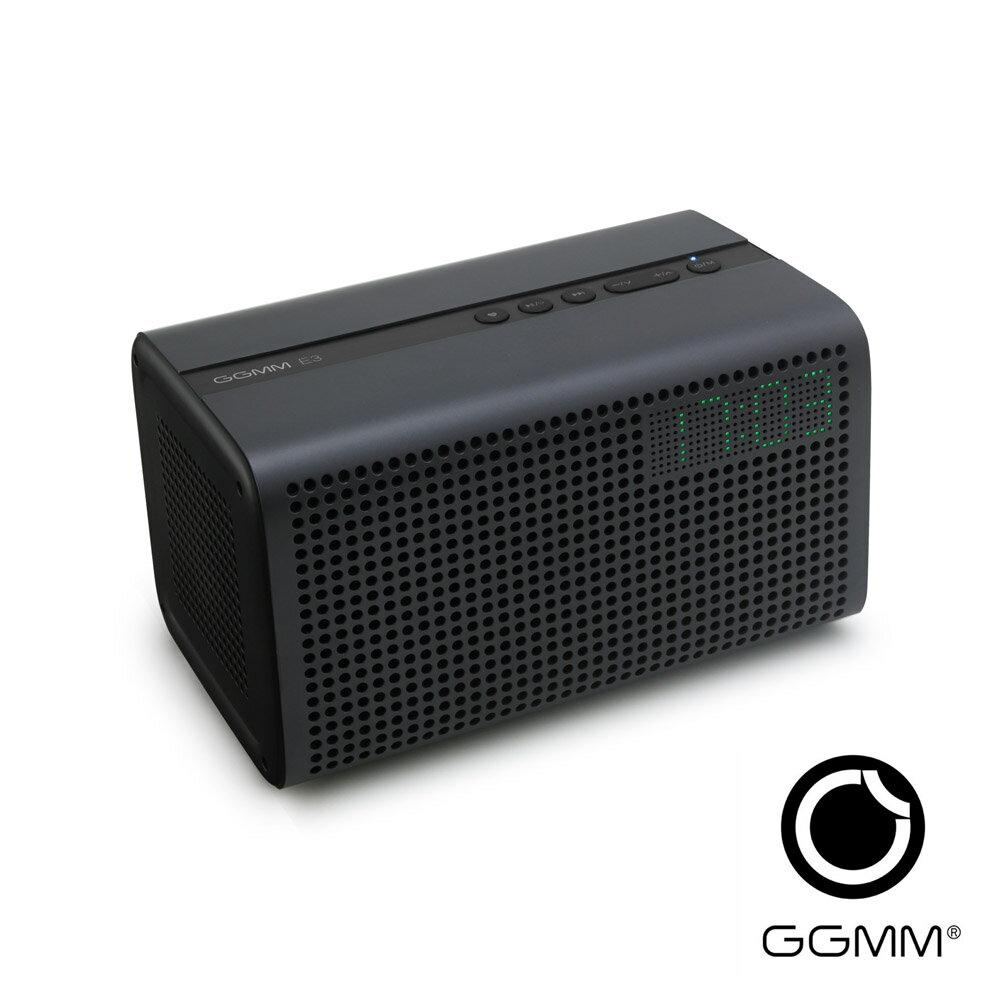 <br/><br/>  【迪特軍3C】GGMM/古古美美 無線WiFi+藍牙音箱 E3 臥室WiFi音響-炭灰<br/><br/>
