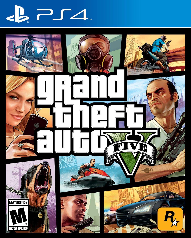 PS4 GTA 5 俠盜獵車手5 中文英文美版 GTA5 Grand Theft Auto V