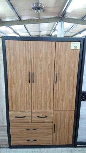 【尚品傢俱】604-01新時代4x7尺衣櫃~~另有3x7尺~~