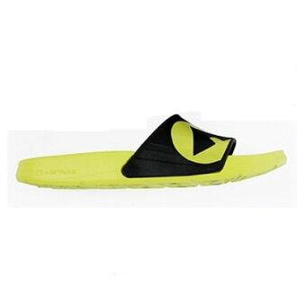 萬特戶外運動-AIRWALK A511220271美國運動流行 台灣製造 EVA 運動拖鞋 ADIDAS鞋款 流行舒適 螢光黃色