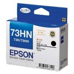 【EPSON 墨水匣】T104151 73HN 高容量 黑色原廠墨水(雙包裝)