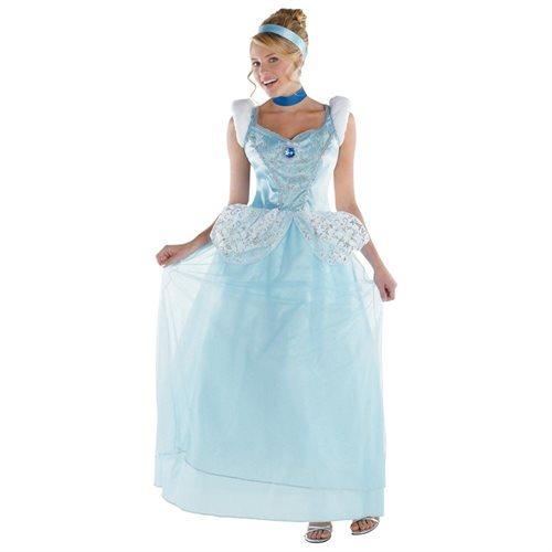 Cinderella Deluxe Adult Halloween Costume 0