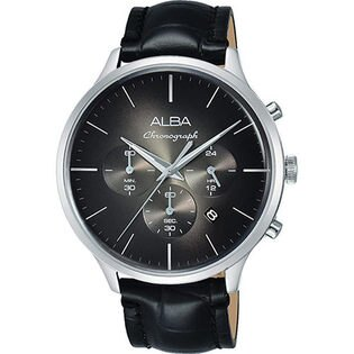 ALBA雅柏VD53-X271C(AT3B43X1)日系米蘭計時男錶皮貸款44mm