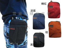 ~雪黛屋~KAWASAKI 腰包5吋手機超無敵耐用外掛腰包PDA袋台灣製造品質保證高單數防水尼龍布材質HKA156