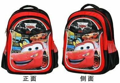 Disney迪士尼麥昆小學生書包1 ~ 3年級汽車護脊減負書包雙肩背包男生