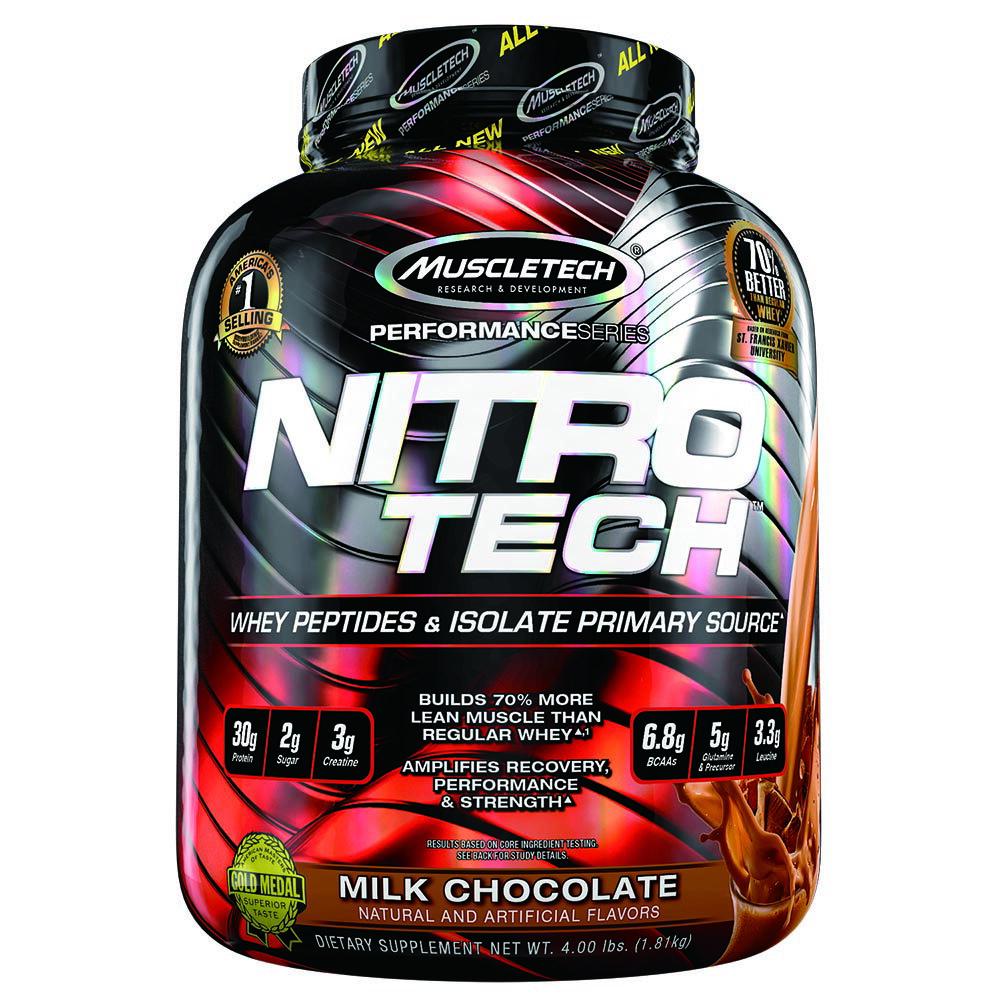 【GNC健安喜】耐如鐵-牛奶巧克力口味 4磅