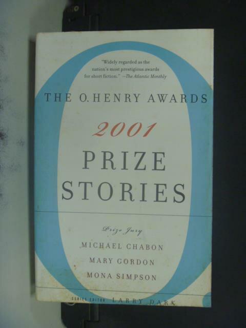 ~書寶 書T5/原文小說_GMY~Prize Stories 2001: The O. H