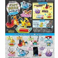 Pokemon:精靈寶可夢到盒裝8款【日本正版】神奇寶貝 精靈寶可夢 桌上小物 P2 第二彈 盒玩 擺飾 Re-ment - 203539