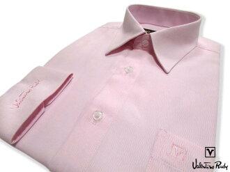 Valentino Rudy范倫鐵諾.路迪長袖襯衫-淡粉色
