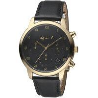 agnès b.眼鏡推薦到agnes b.法式簡約太陽能計時腕錶  VR42-KGD0C BZ5002P1就在寶時鐘錶推薦agnès b.眼鏡