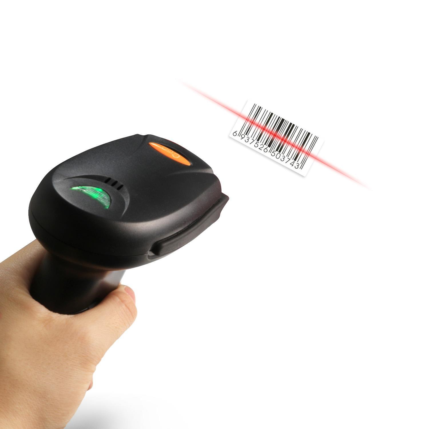 Wireless Automatic Laser Barcode Scanner 5