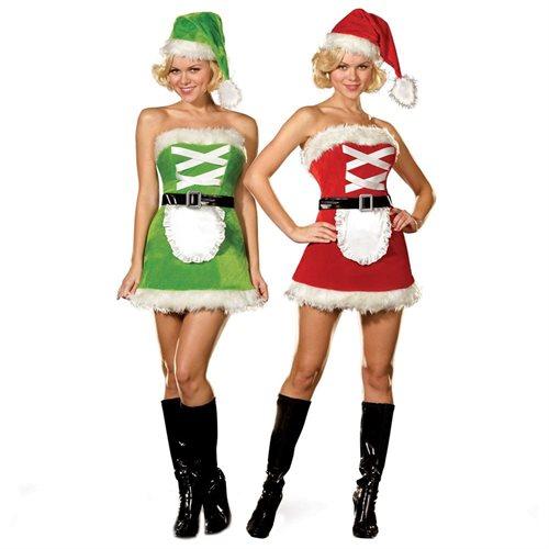 Dreamgirl 32335 Twice as Fun Adult Costume Size Small 0