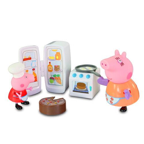 *美馨兒* 英國Peppa Pig 粉紅豬小妹-廚房玩具組 559元