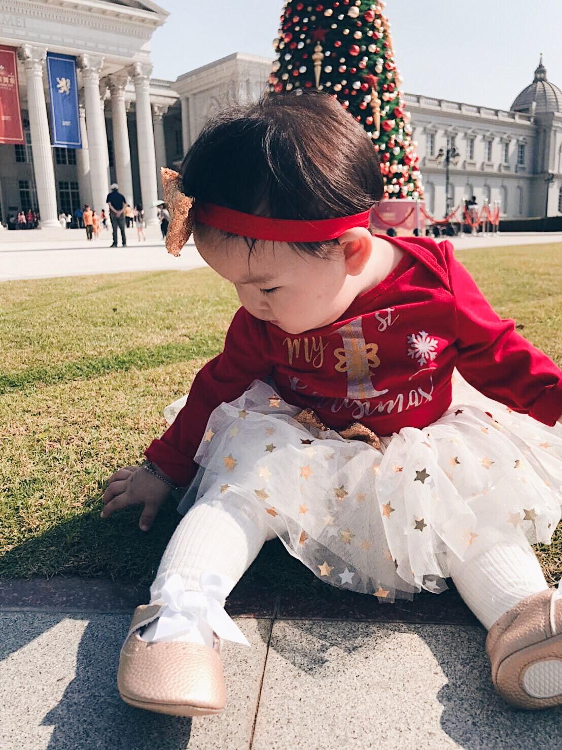 針織簍空薄褲襪 有防滑底 S(6M~2Y). M(3Y~4Y) 橘魔法Baby magic 兒童褲襪 童裝【p0061168785415】 1