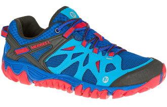 Merrell 越野鞋/健行鞋/黃金大底休閒鞋 All Out Blaze Aero Sport 男款 ML32833 藍